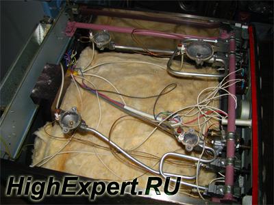 Сколы на варочной панели ремонт